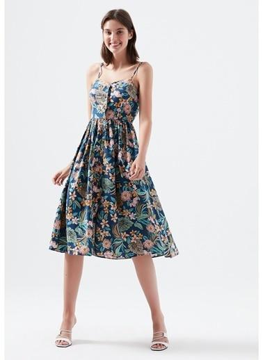 Mavi Elbise Lacivert